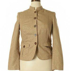 Charter Club collared button up blazer jacket